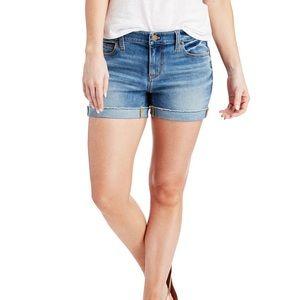 Vineyard Vines Denim Cuffed Shorts